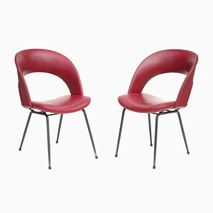 Italian Chairs by Gastone Rinaldi for Rima, 1950s, Set of 2