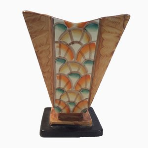Vase Art Deco par Myott and Son, 1930s