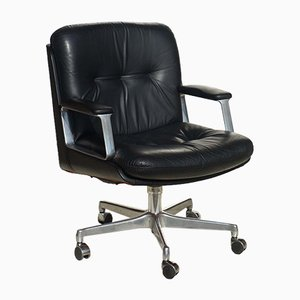 Chaise de Bureau P128 par Osvaldo Borsani pour Tecno, 1970s