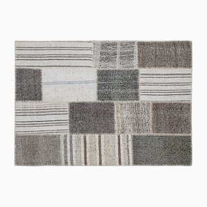 Striped Patchwork Kilim, 1960s