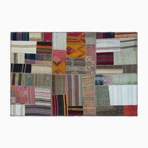 Tappeto Kilim patchwork, anni '60