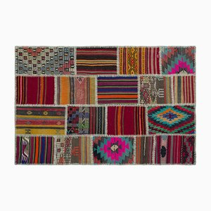 Kilim Patchwork Carpet, 1960s
