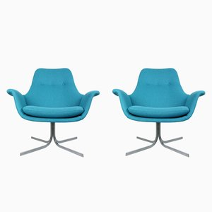 Tulip F-547 Armchair by Pierre Paulin for Artifort, 1960s, Set of 2