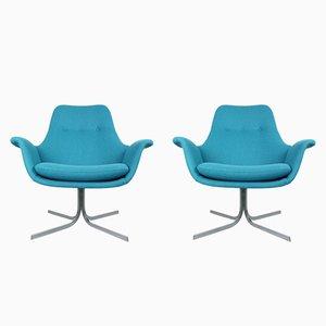 Tulip F-547 Sessel von Pierre Paulin für Artifort, 1960er, 2er Set