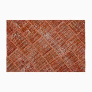 Tapis Patchwork Orange, 1960s