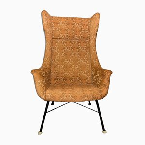 Mid-Century Czech Wingback Chair from TON