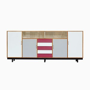 Colorful Formica Sideboard, 1950s