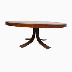Table Basse Mid-Century en Palissandre, 1970s
