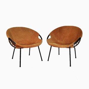 Circle Sessel von Lusch Erzeugnis für Lush & Co, 1960er, 2er Set