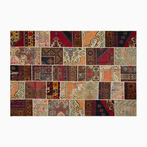Anatolian Patchwork Carpet, 1960s