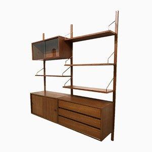 Modernes Royal System Wandregal von Poul Cadovius für Cado, 1960er
