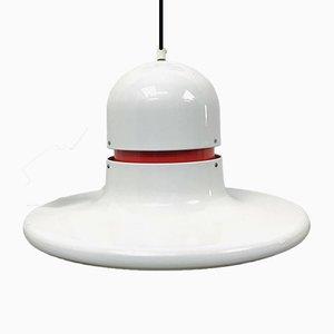 Lámpara de techo sueca moderna de Claesson Bringzen, años 70