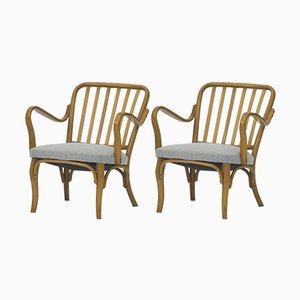 No. 752 Armchairs by Josef Frank for Thonet, Set of 2
