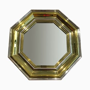 Large Hollywood Regency Wall Mirror by Sandro Petti for Maison Jansen, 1970s