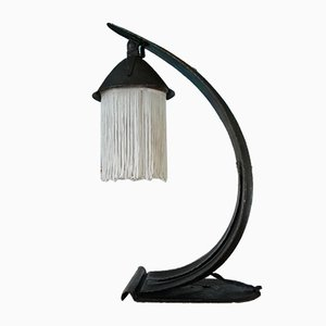 Lámpara de mesa Escuela de Ámsterdam antigua
