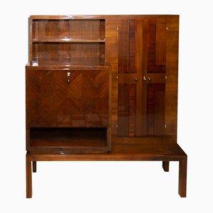 Mueble Art Deco de nogal, años 30