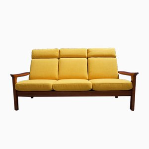 Teak 3-Seater Sofa by Juul Kristensen for Glostrup, 1960s