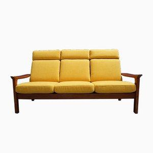 Teak 3-Sitzer Sofa von Juul Kristensen für Glostrup, 1960er