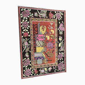 Chinesischer Art Deco Khotan Teppich