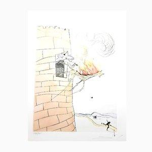 Incisione Il grande inquisitore di Salvador Dali, 1974