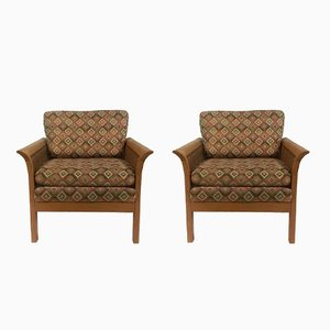 Rotang Lounge Chairs from Arne Norell, 1970s, Set of 2