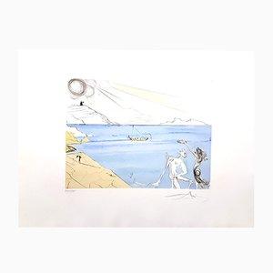 The Laurels of Happiness Radierung von Salvador Dali, 1974