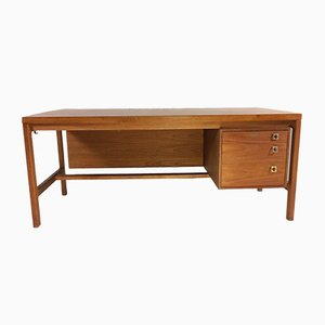 Teak Executive Desk by Arne Vodder for Sibast, 1960s
