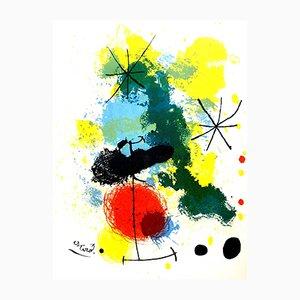 Frontispiece von Joan Miró für Mourlot Press, 1964