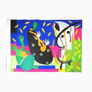 King's Sadness von Henri Matisse, 1952