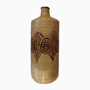 Keramikflasche von Marcel Giraud, 1950er
