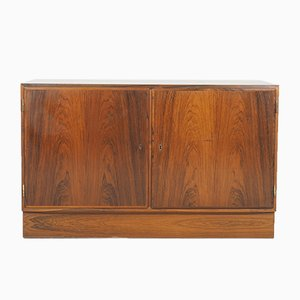 Small Rosewood Sideboard by Carlo Jensen for Hundevad & Co., 1960s