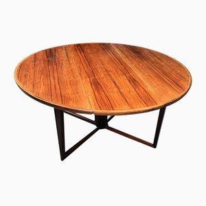 Mesa de comedor plegable de Helge Sibast para Sibast, años 50