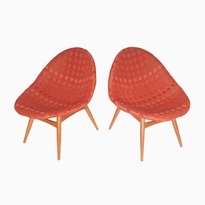 Chaise longue di Miroslav Navratil, anni '70, set di 2