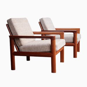 Danish Teak Lounge Chair by Sven Ellekaer for Komfort