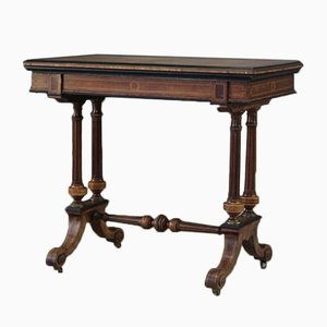 Antique Victorian Card Table
