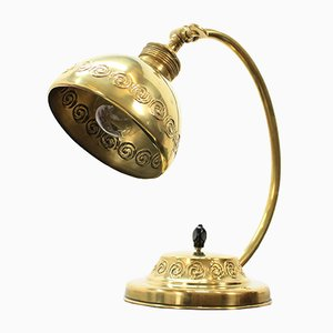 Brass Table Lamp, 1910s