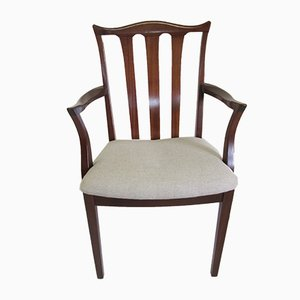 Vintage Teak Armchairs, Set of 2