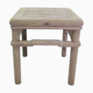 Tavolino da caffè quadrato antico