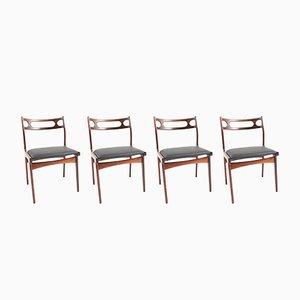 Chaises de Salle à Manger par Johannes Andersen pour Uldum Møbelfabrik, 1960s, Set de 4