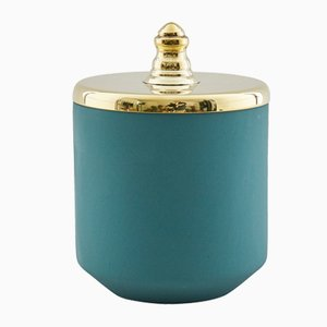 Vaso piccolo verde di Hend Krichen