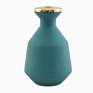 Green Small Vase by Hend Krichen
