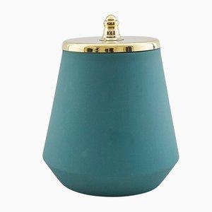 Vaso grande verde di Hend Krichen