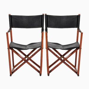 Model MK 16 Folding Chairs by Mogens Koch, 1960s, Set of 2