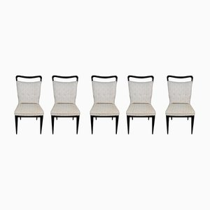Dining Chairs from I.S.A. Ponte S. Pietro, 1950s, Set of 5