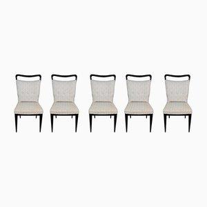 Esszimmerstühle von I.S.A. Ponte S. Pietro, 1950er, 5er Set