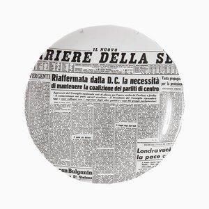 Piatto vintage di Piero Fornasetti