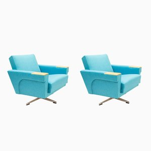 Swiveling Arm Chairs, 1960s, Set of 2
