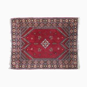 Handgeknüpfter marokkanischer Vintage Rabat Teppich