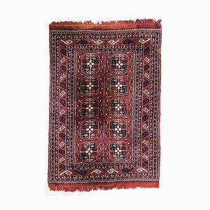 Vintage Kurdish Hand-Knotted Rug
