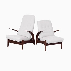 Easy Chairs by Rolf Rastad & Adolf Relling for Gimson & Slater, 1960s, Set of 2